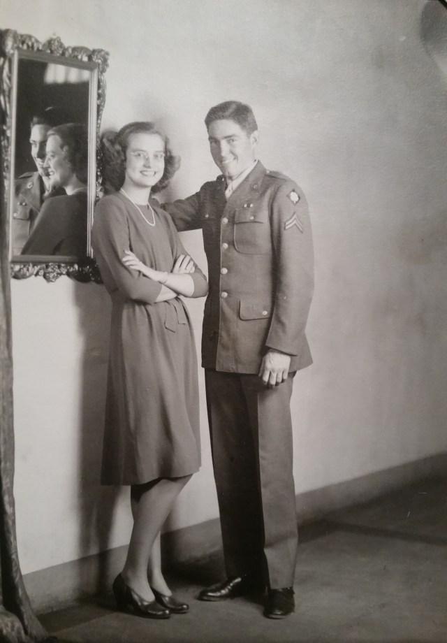 Uncle Richard Nichols and Aunt Helen Bomar Nichols