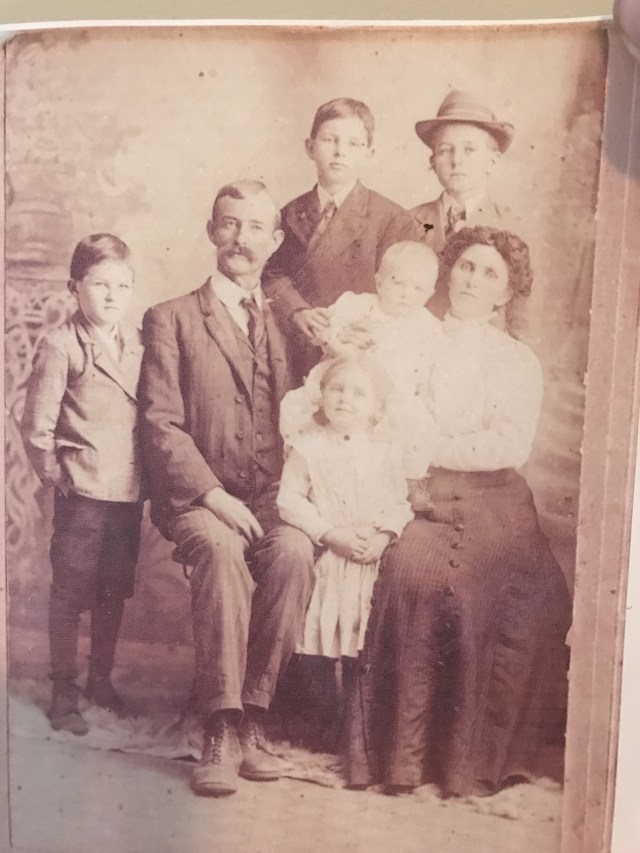james, minnie, maurice, floyd, roy, mabel and audra faulk
