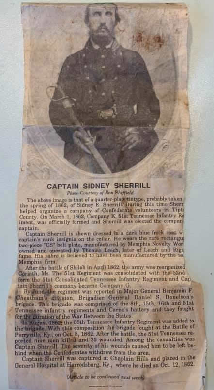 Captain Sidney Sherrill