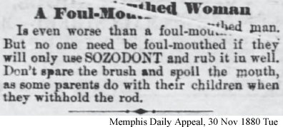Cure for Foul Mouthed Women