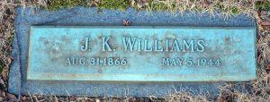 Williams, James Kenney (1866-1944)