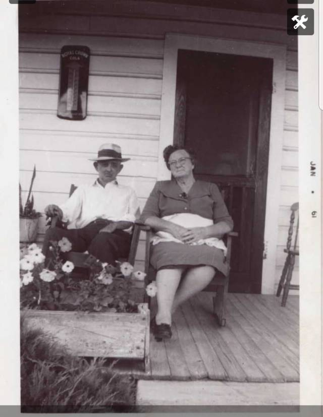 Patterson, Robert Jackson (Jack) and Jennie Mae Byrd