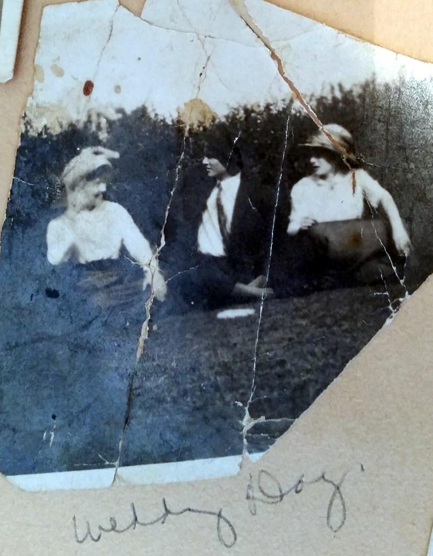 Elbert Royal Nichols and Mary Frances Piercy's Wedding Day