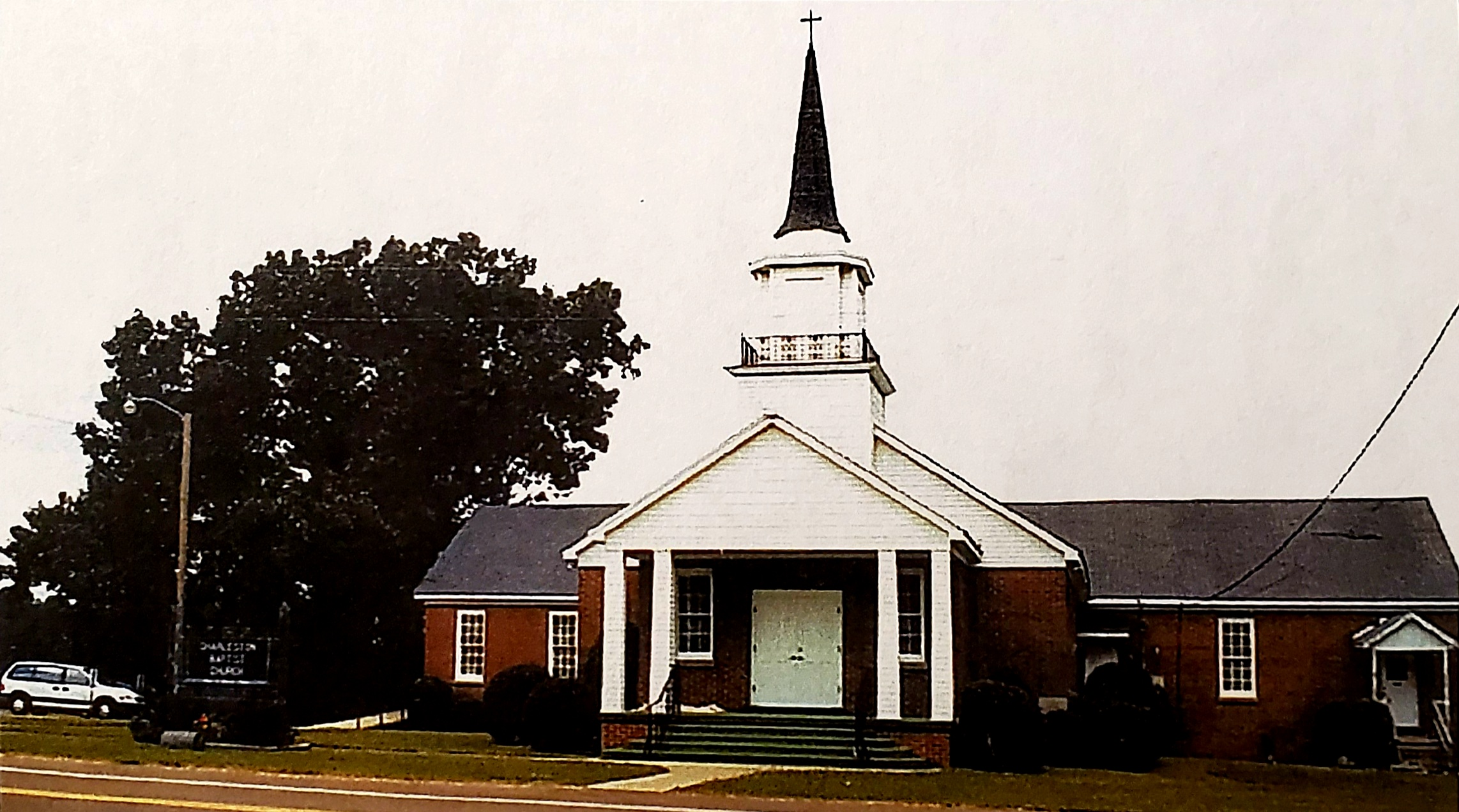 Charleston Baptist Church as it appears today.