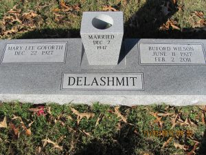 Delashmit, Mary Lee Goforth