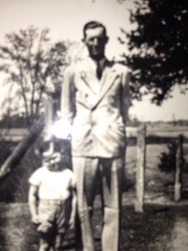 William Herman Goforth with Gerald Wayne Goforth
