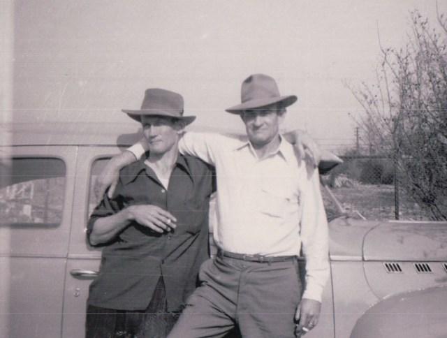 Parrish and Ruba Blankenship 1950