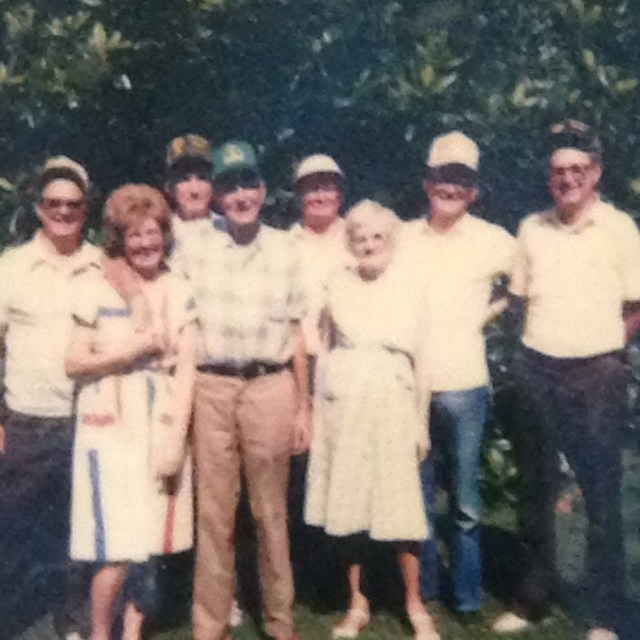 Roy Faulk Jr, Yolonde Faulk, Ray Faulk, Roy Faulk Sr, Paul Faulk, Ruby Faulk, Rodney Faulk and Jimmy Faulk