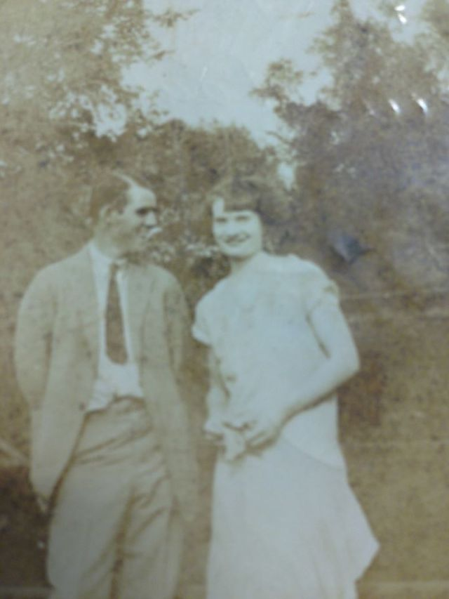 Norman Faulk The back of this photo lists Morris Faulk and Nettie Baxter
