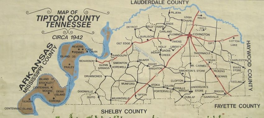 Island 35, Tipton County, Tennessee