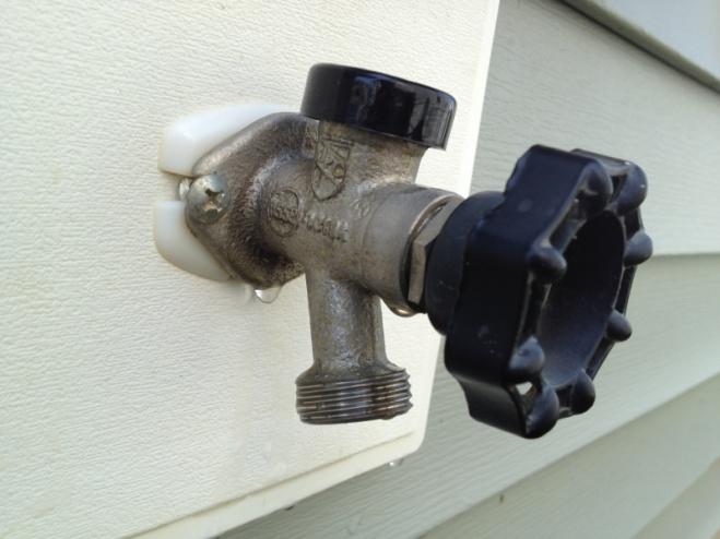 Outdoor Faucet Tiptons Plumbing