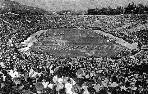 Image result for photo of the 1942 Rose Bowl game