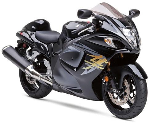Suzuki Hayabusa Limited Top 10 Fastest Motorbikes in the World