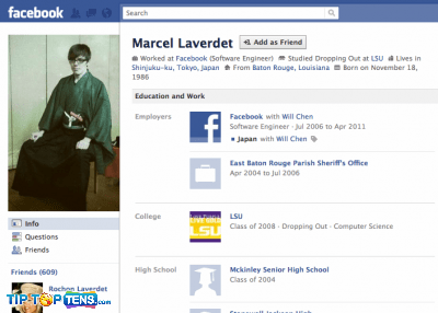 marcel georgs laverdet 10 First People To Join The Facebook