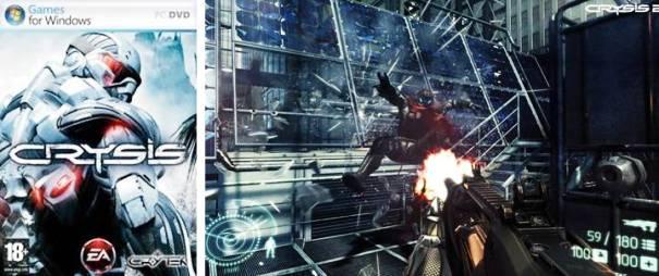 2.  Crysis Top 10 Best Game Shooter Orang Pertama pada 2012