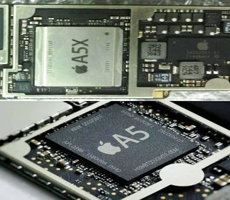 2.  Prosesor 10 Perbedaan Antara iPad 2 dan The iPad Baru 3