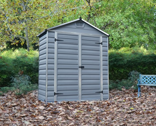 skylight 6x3 shed grey
