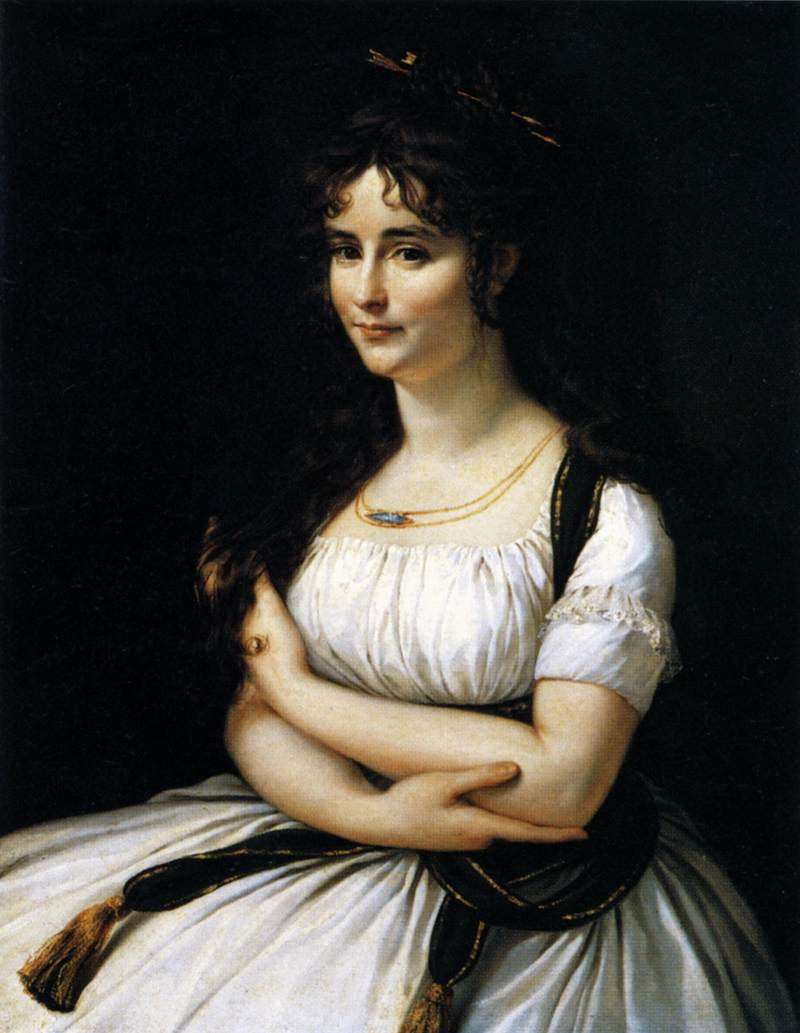 Portrait of Madame Pasteur, née Madeleine Alexandre by Antoine-Jean Gros.