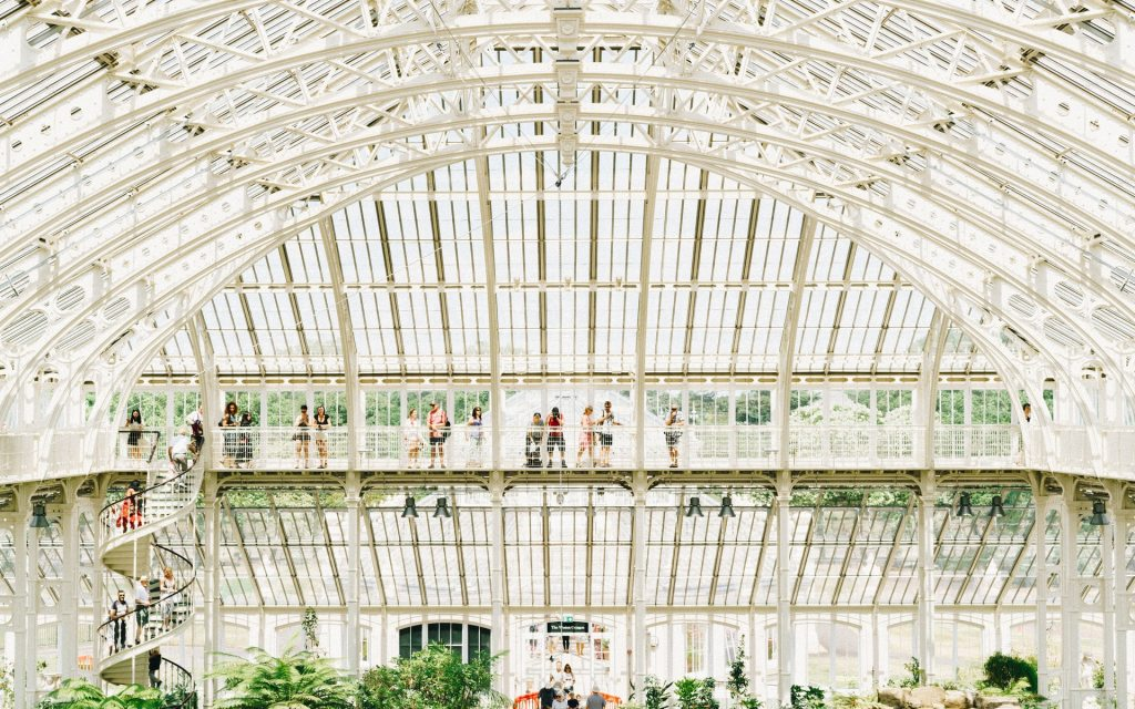 The Temperate House glasshouse Kew Gardens