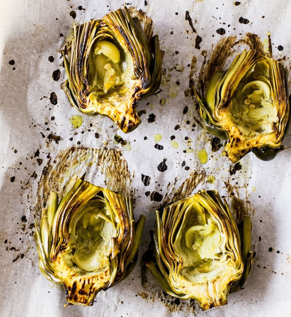 Emulate an Italian lifestyle by adding artichokes to your dinner table.