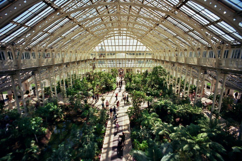Kew Gardens video and inside Kew Gardens