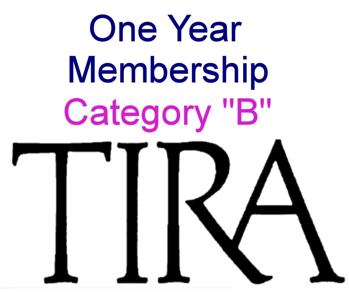 """Cat  """"B"""" member 1 year"""