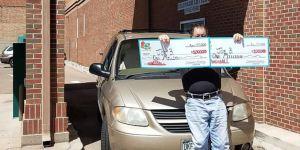 Loto: ses 2 x 1 million gagnés au même tirage retirés au «drive-in» de la loterie