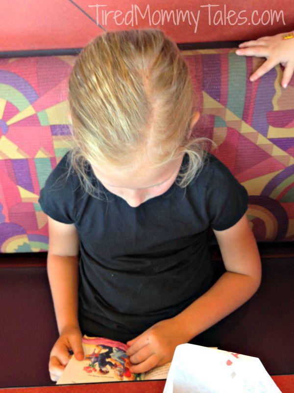 Reading at Taco Bell
