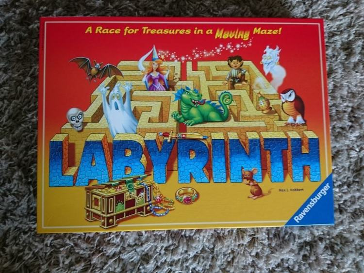 Labyrinth by ravensburger box