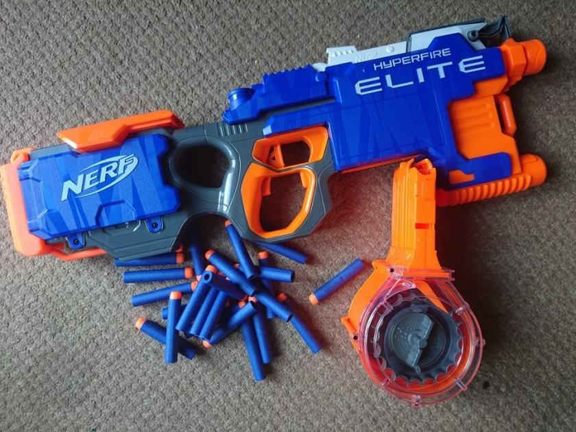 Where To Buy The Nerf N-Strike Elite HyperFire Blaster | The Most Ugly &  Cool Toys Best Review