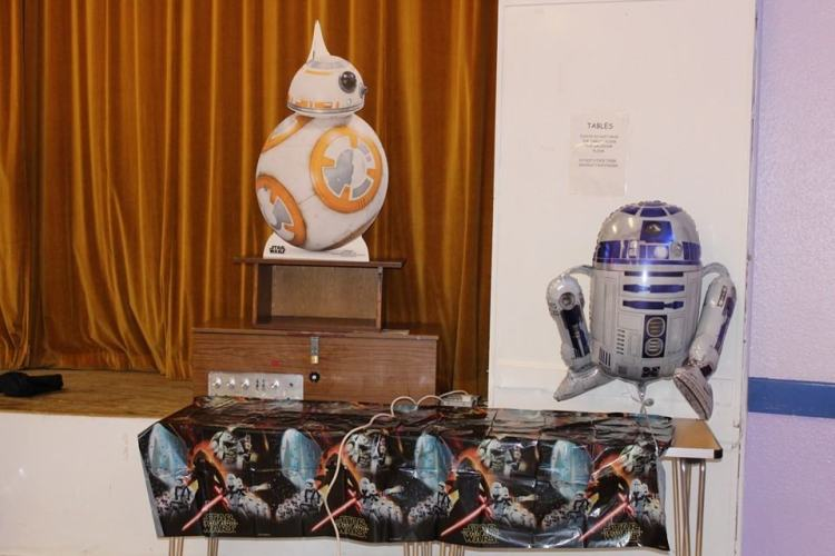 Star Wars Party droids