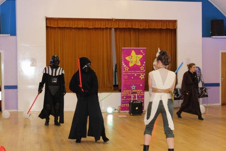 star wars party entertainment