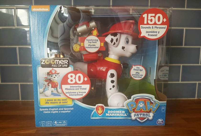 Paw Patrol Zoomer Marshall Tired Mummy Of Two