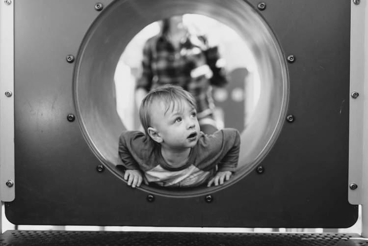 toddler-in-tube