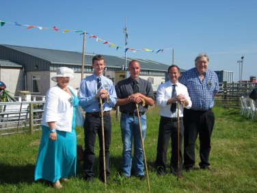 judges at Tiree Show 2014