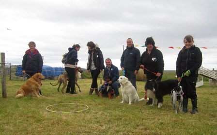 Dog Winners at Tiree Show
