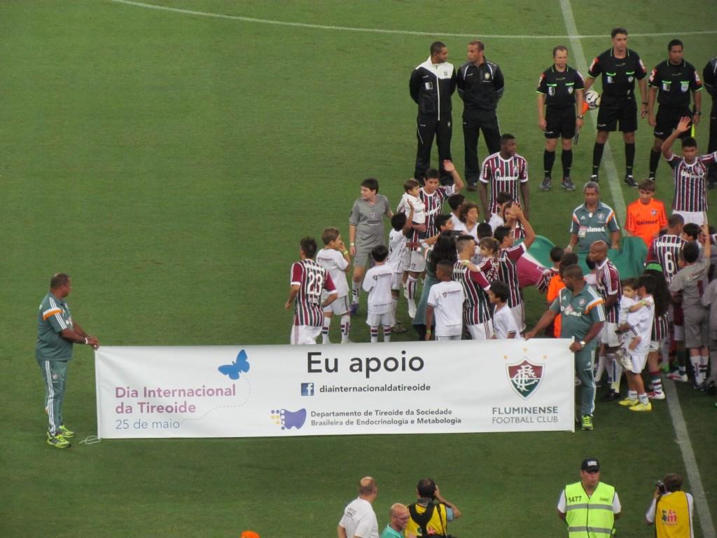 Fluminense apoia Dia Internacional da Tireoide