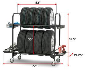 tire rack