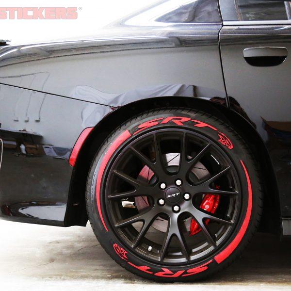 Dodge Mopar SRT TIRE STICKERS COM
