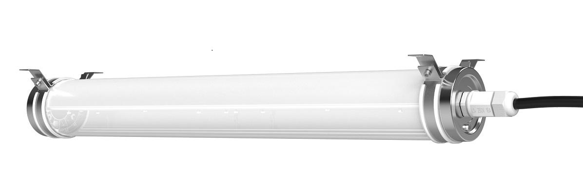 """New in: ammoniakbeständige LED-Feuchtraumleuchten """"Azana"""" für Viehställe"""