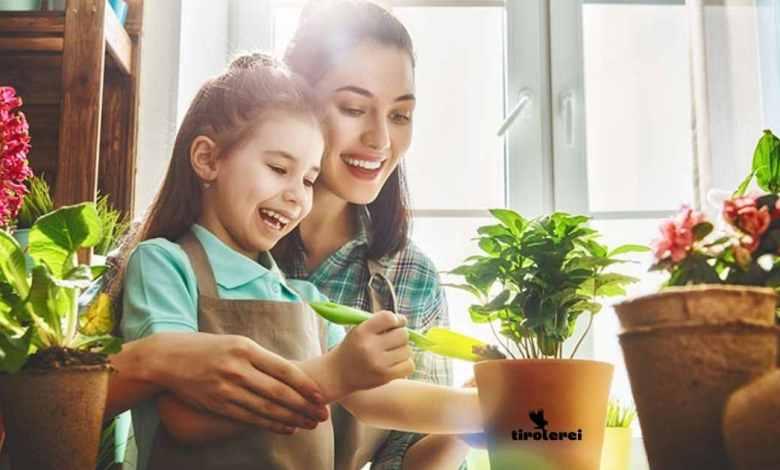 Pflanzen mit kindern