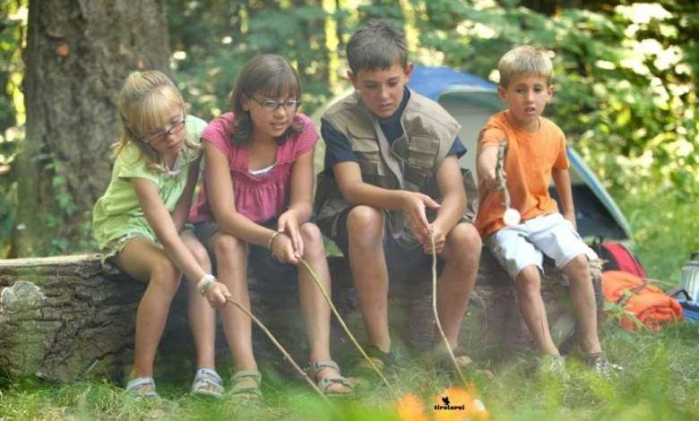 Sommermonate Spaß für Ihre Kinder