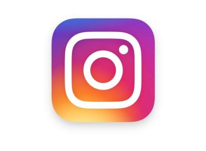 En la imagen se ve el actual logotipo de Instagram