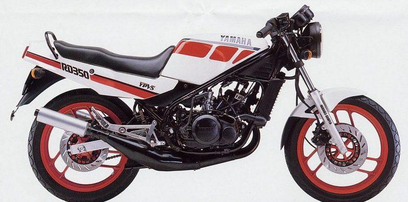 Yamaha RD 350 la viuda negra