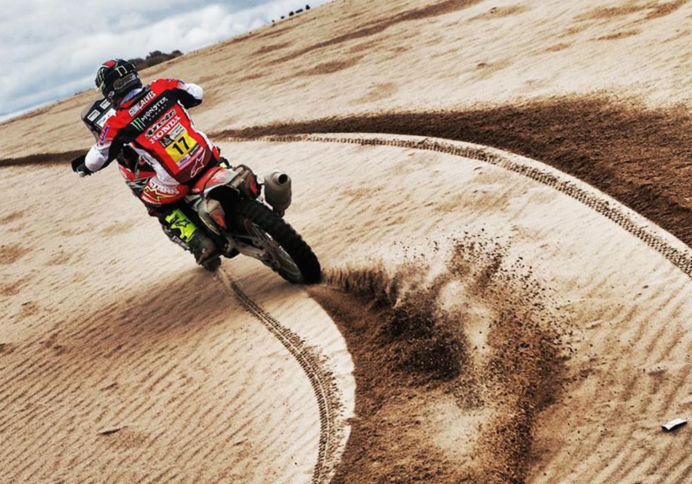 Las motos del Dakar