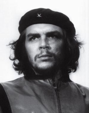 Retrato famoso del Che Guevara