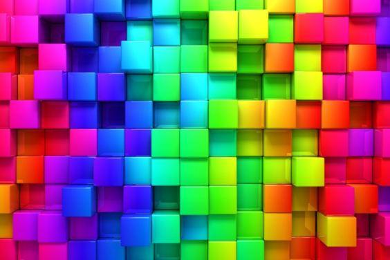 Imagen con múltiples cuadrados pequeños de diferentes colores