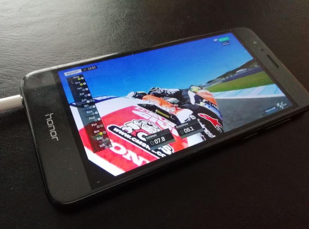 Ver MotoGP con el móvil