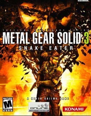 Portada del juego de PS2 Metal Gear Solid 3