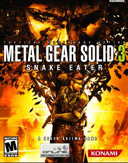 c71eff80059f0 Portada del juego de PS2 Metal Gear Solid 3